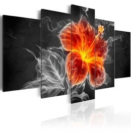 Tablou - Smoky flower