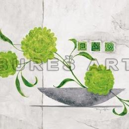 Tablou ''Vas cu flori luminoase II'' inramat