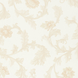 Tapet superlavabil clasic cu design floral