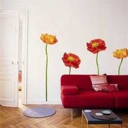 """Sticker decorativ """"4 maci rosii"""""""