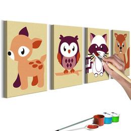 Pictatul pentru recreere - Forest Animals