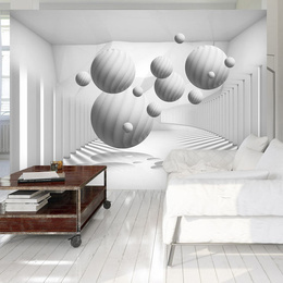 Fototapet - Balls in White
