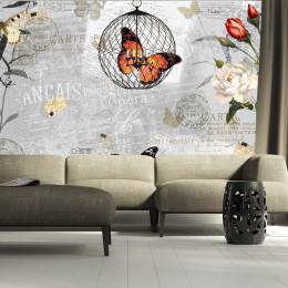 Fototapet - Butterflies song