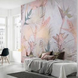 Fototapet decorativ Pictura tropicala murala