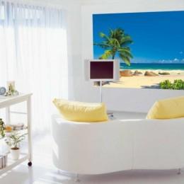Fototapet peisaj exotic Seychelles