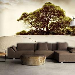 Fototapet - Tree in the desert