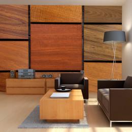 Fototapet - Wooden cubes