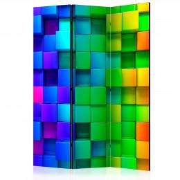 Paravan - Colourful Cubes [Room Dividers]