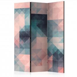 Paravan - Pixels (Green and Pink) [Room Dividers]