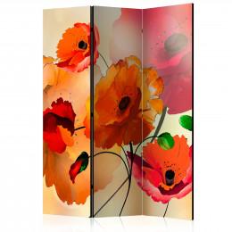 Paravan - Velvet Poppies [Room Dividers]