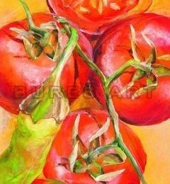 Tablou decorativ ''Tomate'', inramat