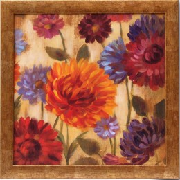 Tablou ''Flori colorate III'' inramat