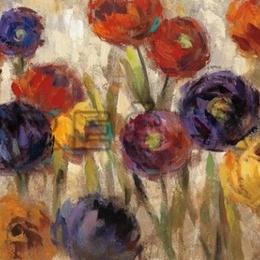 Tablou ''Flori colorate V'' inramat