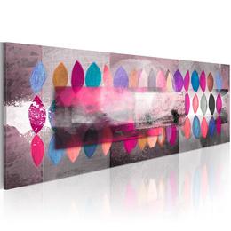 Tablou pictat manual - Color trends