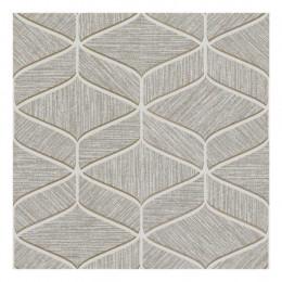Tapet superlavabil geometric gri clasic- modern