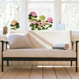 Sticker de geam XL ''Hortensii''