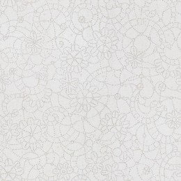 Tapet cu model grafic floral in puncte