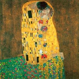 Poster Sarutul de Klimt, inramat, 60x80 cm