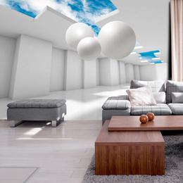 Fototapet - Architecture of the Future