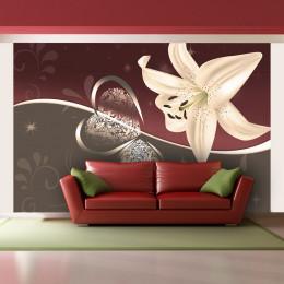Fototapet - Cream lily