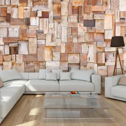 Fototapet - Larch mosaic