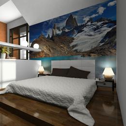 Fototapet - Mount Fitz Roy, Patagonia, Argentina