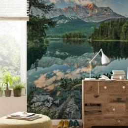 Fototapet peisaj Oglinda lacului