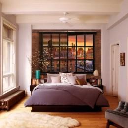 Fototapet Perete de caramida din Brooklyn