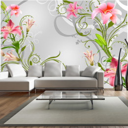 Fototapet - Subtle beauty of the lilies III