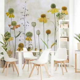 Fototapet vlies floral Helenium