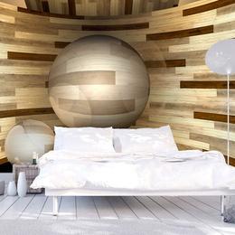 Fototapet - Wooden orbit