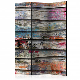Paravan - Colourful Wood [Room Dividers]