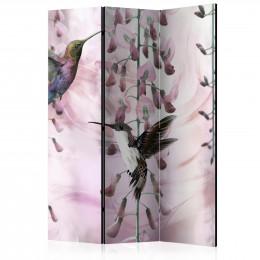 Paravan - Flying Hummingbirds (Pink) [Room Dividers]