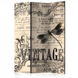 Paravan - Vintage Correspondence [Room Dividers]