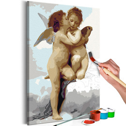 Pictura pe numere - Ingeri (Dragoste)