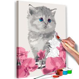 Pictura pe numere - Pisicuta
