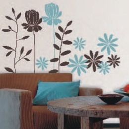 """Sticker de perete - """"Frunze ciocolatii"""""""