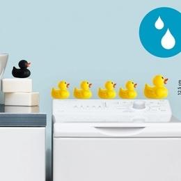 """Sticker decorativ pentru baie """"Ratuste"""""""
