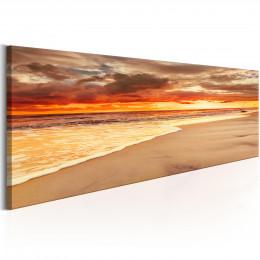 Tablou canvas Apus de soare la mare