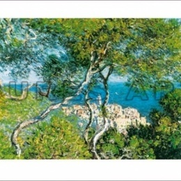 "Tablou Monet ""Bordighera"" inramat"