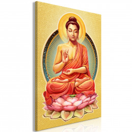 Tablou - Peace of Buddha (1 Part) Vertical