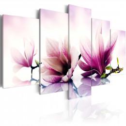 Tablou - Pink flowers: magnolias