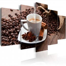 Tablou Startul zilei cu o cafea