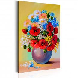 Tablou Vas cu flori de camp