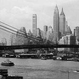 Tablou Zgarie norii din Manhattan, inramat