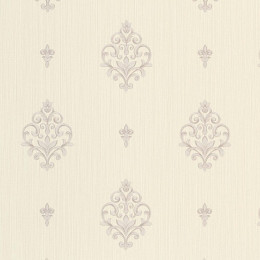 Tapet superlavabil clasic cu design baroc fin