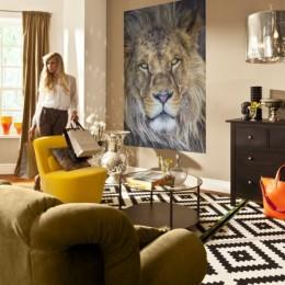 Fototapet cu animale Leu