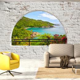 Fototapet - Emerald Island
