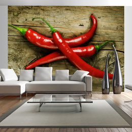 Fototapet - Spicy chili peppers