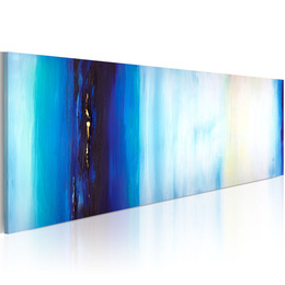 Tablou pictat manual - Blue liquid